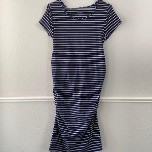 Isabel Maternity Midi Dress Size Small